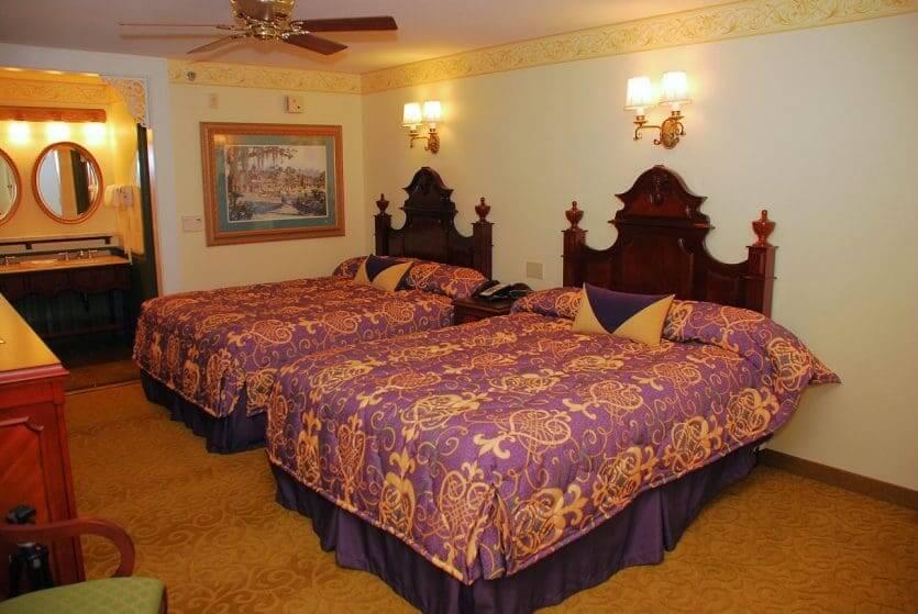 Disney's Port Orleans Resort - French Quarter: quarto