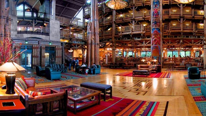 Disney's Wilderness Lodge: artesanato norte-americano