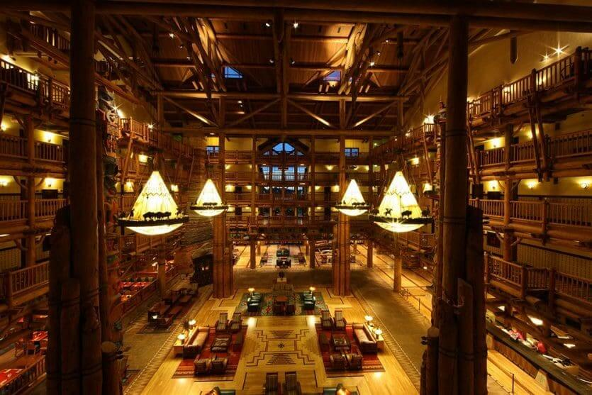 Disney's Wilderness Lodge por dentro