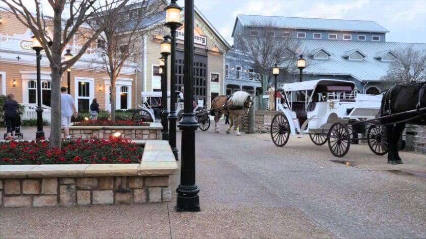 Disney's Port Orleans Resort - French Quarter: passeio de carruagem