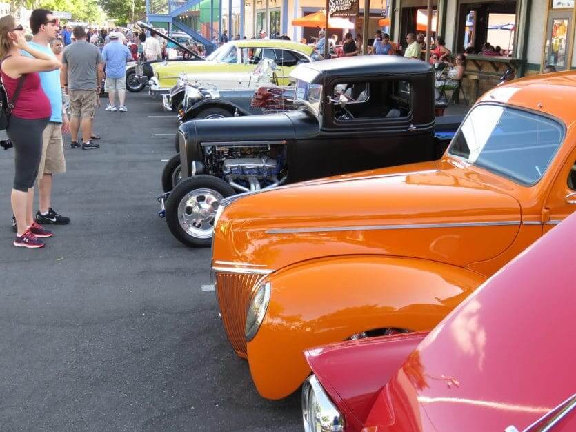 Old Town Kissimmee: Classic Car Show