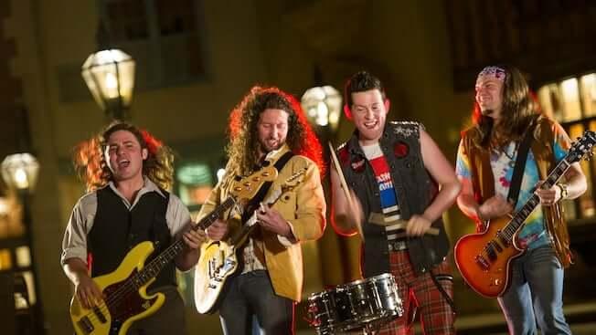 Shows, paradas e apresentações no parque Disney Epcot Orlando: British Revolution