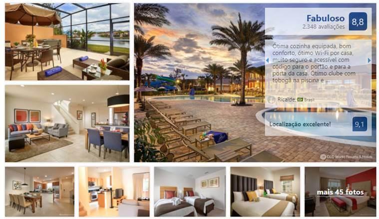 Casas menores para alugar na Disney e Orlando: Condomínio Regal Oaks Resort