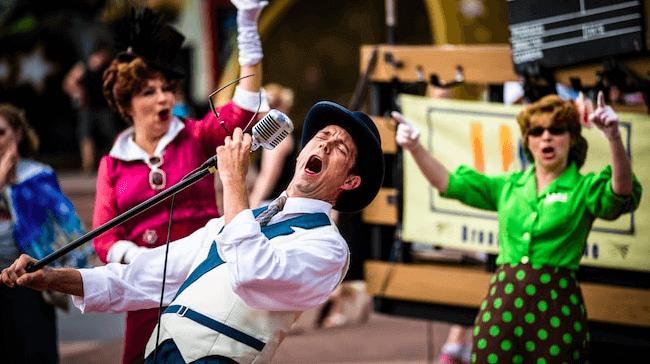 Shows, paradas e apresentações no parque Disney Hollywood Studios Orlando: Citizens of Hollywood
