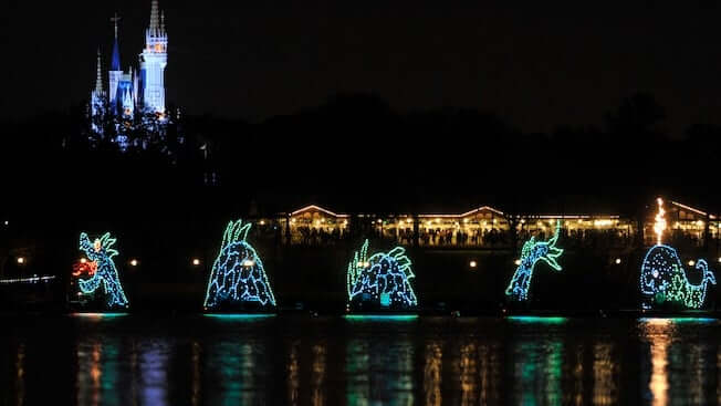 Shows, paradas e apresentações no parque Disney Magic Kingdom Orlando: Electrical Water Pageant