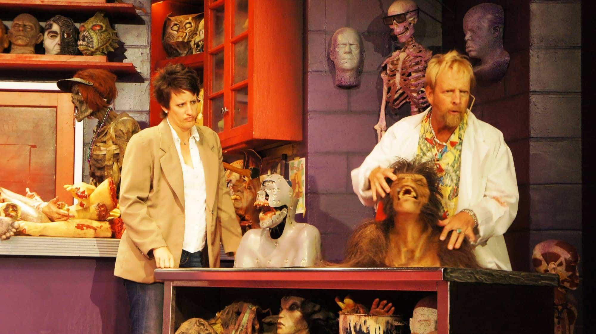 Shows, paradas e apresentações no parque Universal Studios em Orlando: Horror Make-Up Show