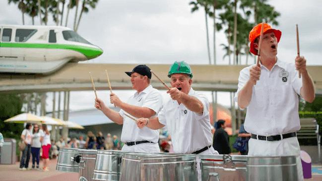 Shows, paradas e apresentações no parque Disney Epcot Orlando: JaMMitors no Future World East