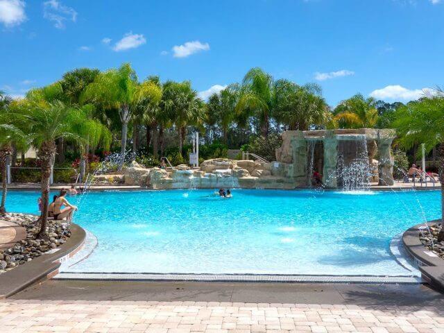 Condomínio de casas Paradise Palms Resort em Orlando