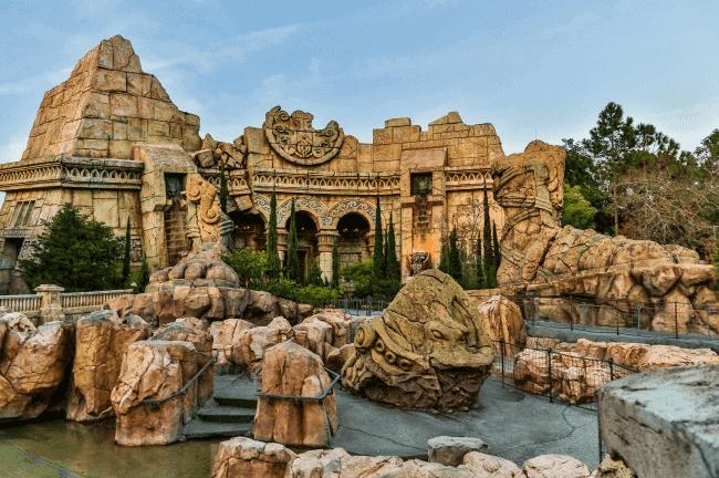 Shows, paradas e apresentações no parque Islands of Adventure em Orlando: Poseidon's Fury