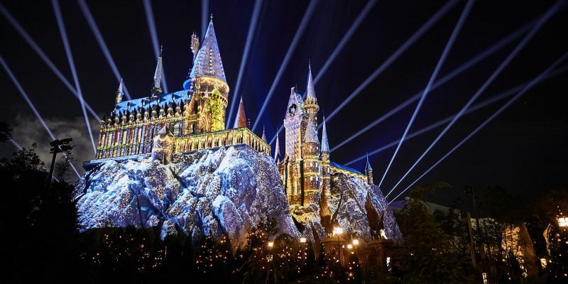 Natal no Universal Studios em Orlando: The Magic of Christmas at Hogwarts
