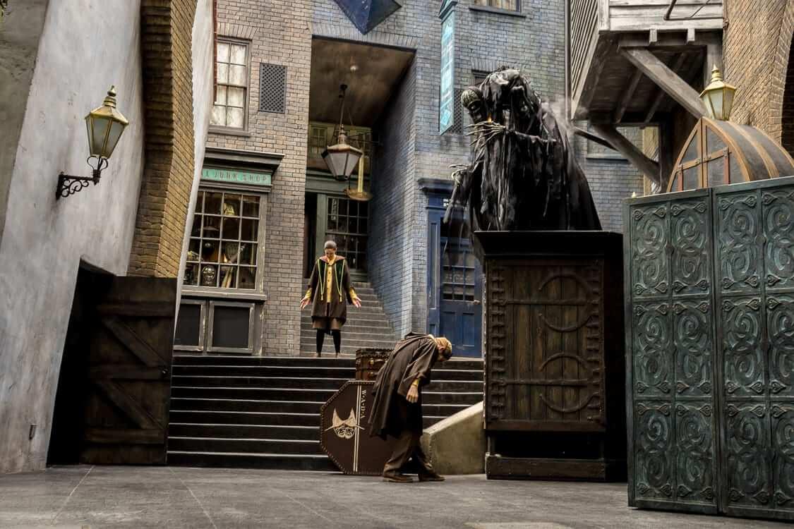 Shows, paradas e apresentações no parque Universal Studios em Orlando: The Tales of Beedle the Bard