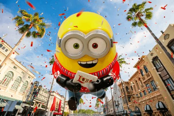 Shows, paradas e apresentações no parque Universal Studios em Orlando: Universal's Holiday Parade featuring Macy's