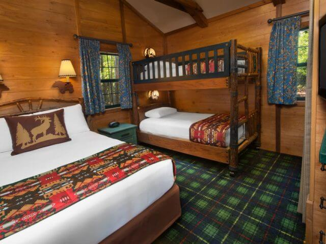 The Campsites e Cabins no Disney's Fort Wilderness Resort