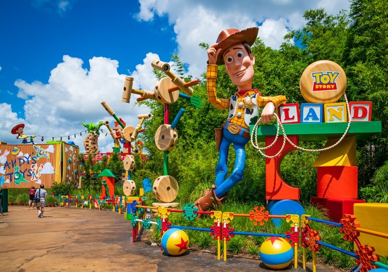 Nova área de Toy Story no Disney Hollywood Studios: Toy Story Land