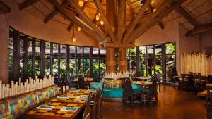 Melhores restaurantes dos hotéis da Disney em Orlando: restaurante Boma - Flavors of Africa