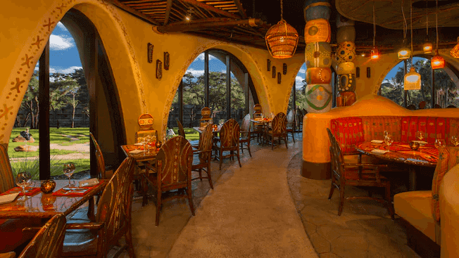 Disney's Animal Kingdom Villas - Kidani Village: restaurante Sanaa