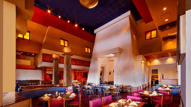 Disney's Coronado Springs Resort: restaurante Maya Grill