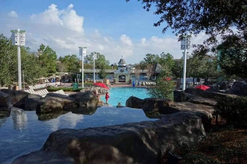 Disney's Saratoga Springs Resort & Spa: Piscina