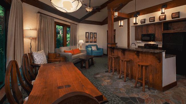 Disney's Saratoga Springs Resort & Spa: Treehouse Villa