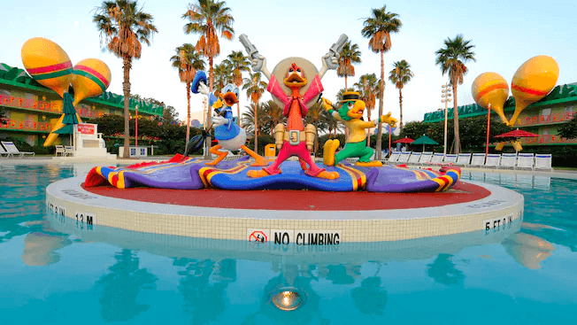 Hotel Disney All-Star Music em Orlando: piscina Calypso Pool
