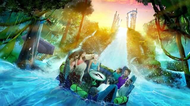 Novidades na Disney e Orlando em 2018: Infinity Falls no SeaWorld
