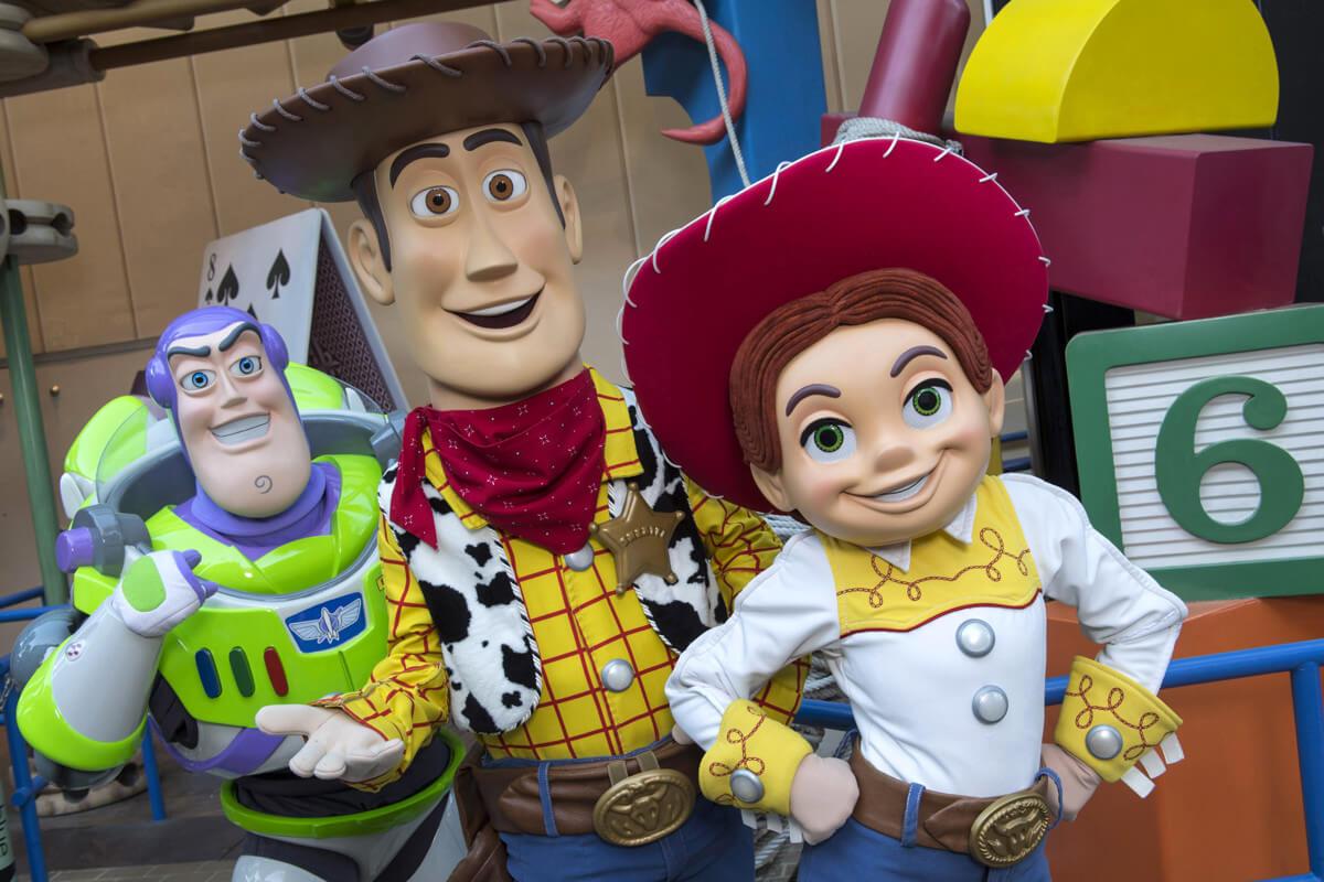 Nova área de Toy Story no Disney Hollywood Studios: personagens