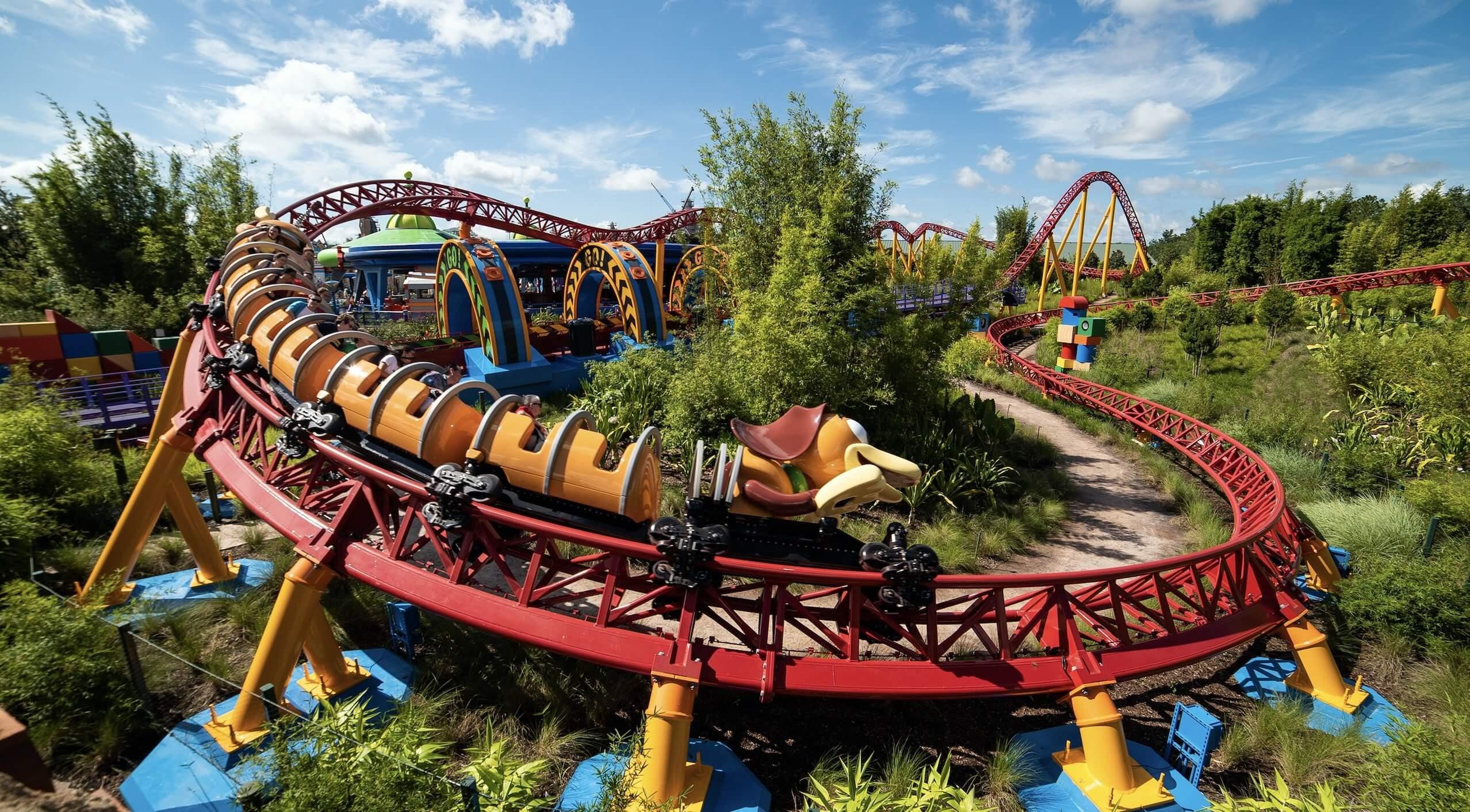 Nova área de Toy Story no Disney Hollywood Studios: montanha-russa Slinky Dog Dash
