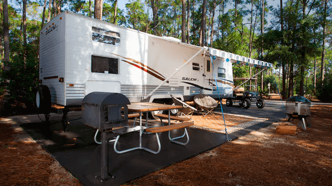 The Campsites e Cabins no Disney's Fort Wilderness Resort: área de acampamento premium