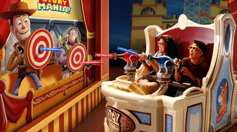 Nova área de Toy Story no Disney Hollywood Studios: Toy Story Mania!