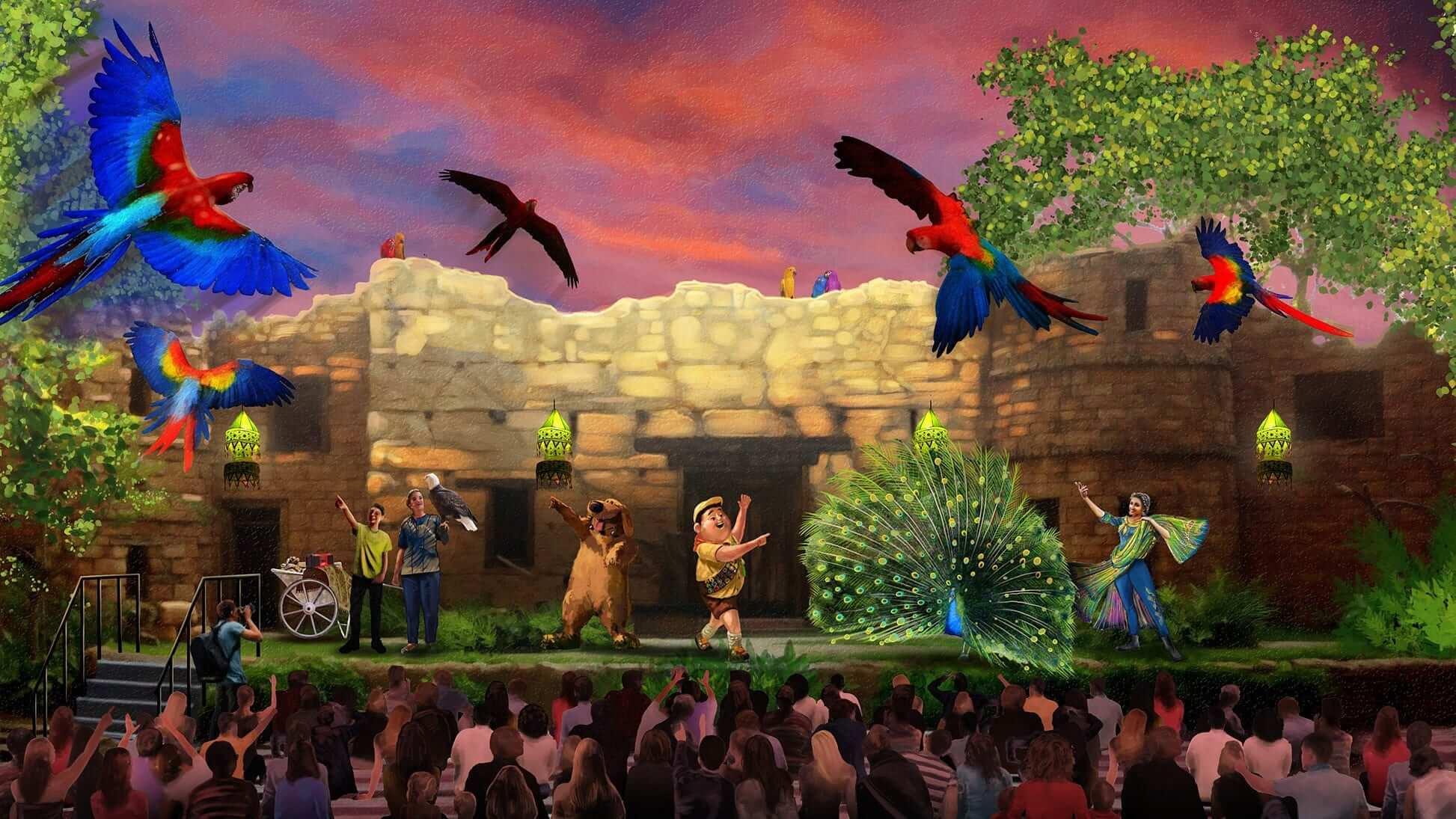 Novidades na Disney e Orlando em 2018: UP! A Great Bird Adventure no Disney Animal Kingdom