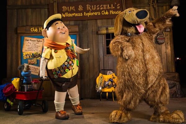 Novo show de Up! no Disney Animal Kingdom