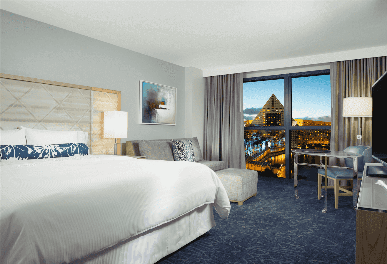 Walt Disney World Swan & Dolphin Resort: Quarto Swan Guest Room