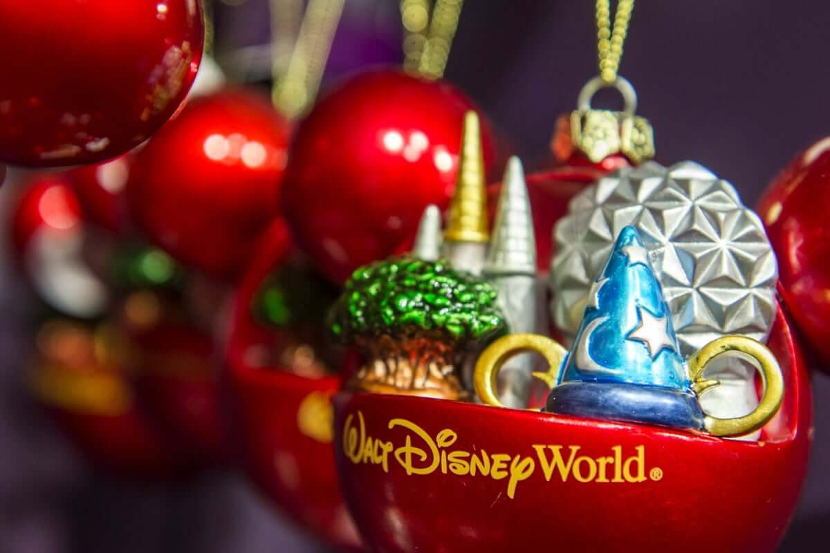 Loja Disney's Days of Christmas na Disney Springs: enfeite