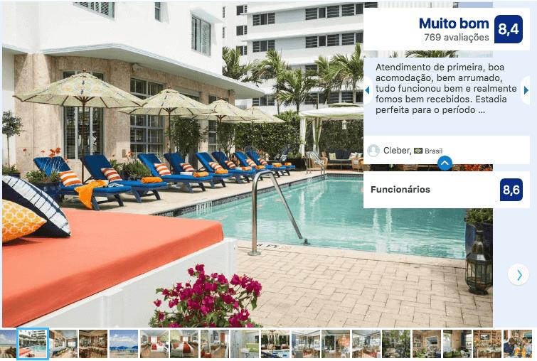 Dicas de hotéis em Miami: Hotel Circa 39 Miami