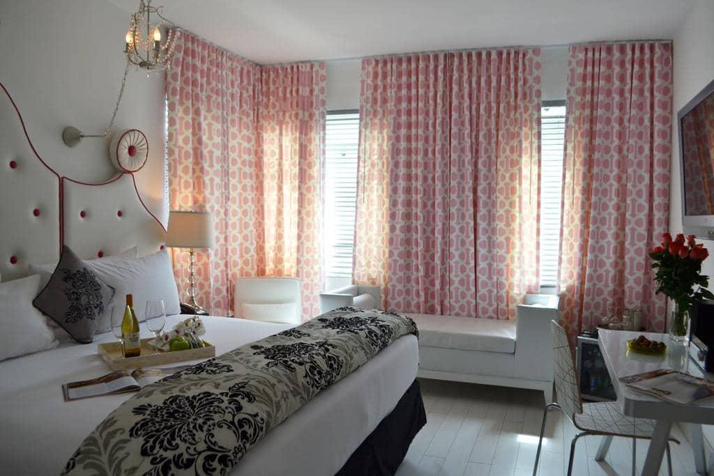 Dicas de hotéis em Miami: Hotel Whitelaw Miami - quarto