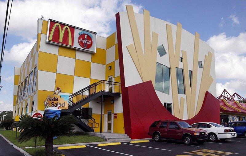 Onde comer McDonald's em Orlando