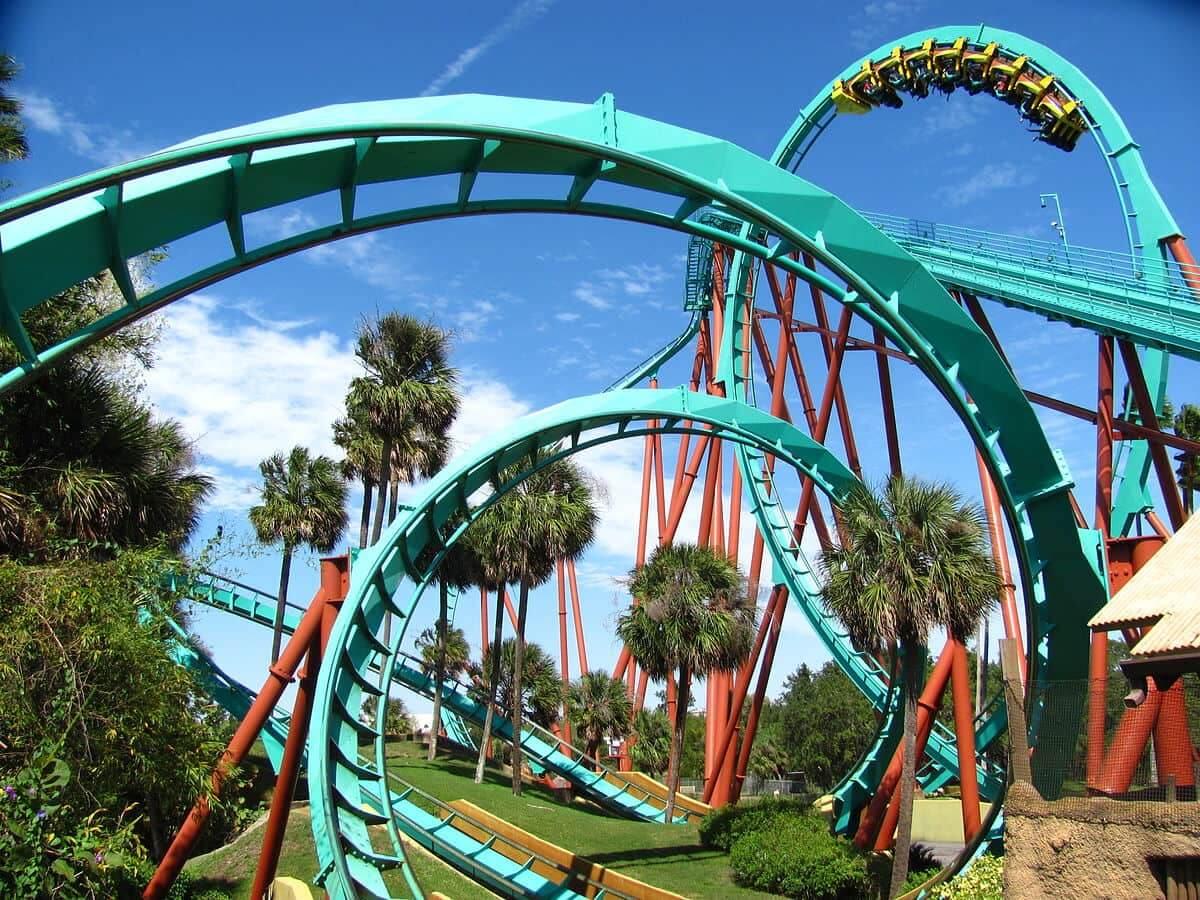 Brinquedos e atrações em manutenção em Orlando em 2018: montanha-russa Kumba do parque Busch Gardens