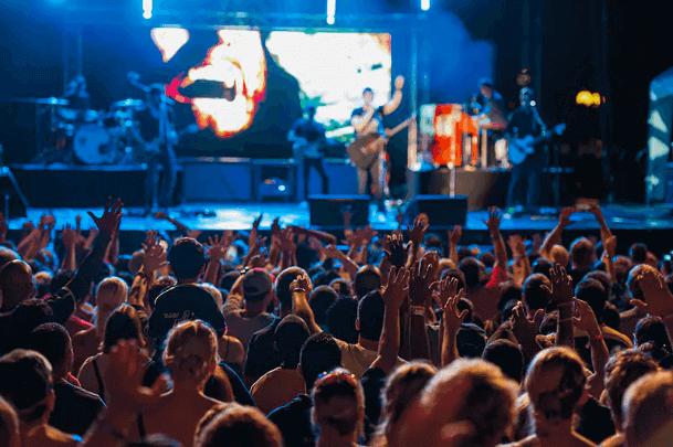 Festival de música cristã Rock the Universe na Universal Orlando em 2018: show