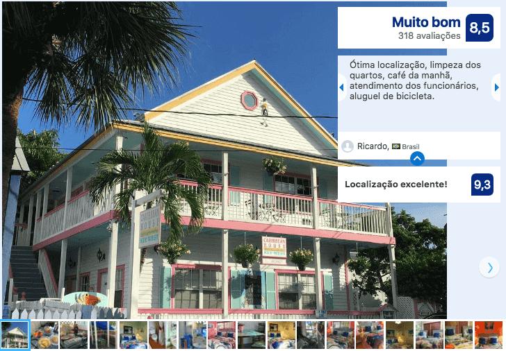 Hotéis bons e baratos em Key West: Hotel Caribbean House