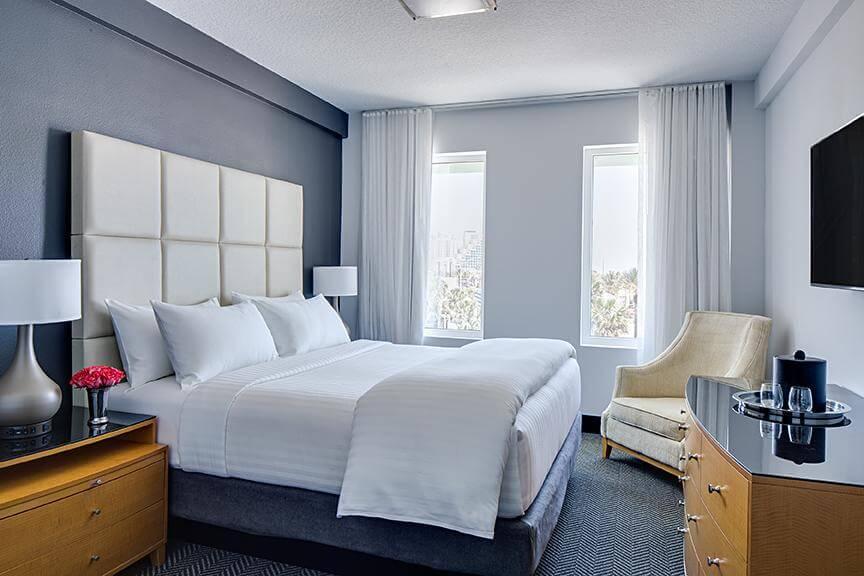 Melhores hotéis em Daytona Beach: Hotel Streamline - quarto