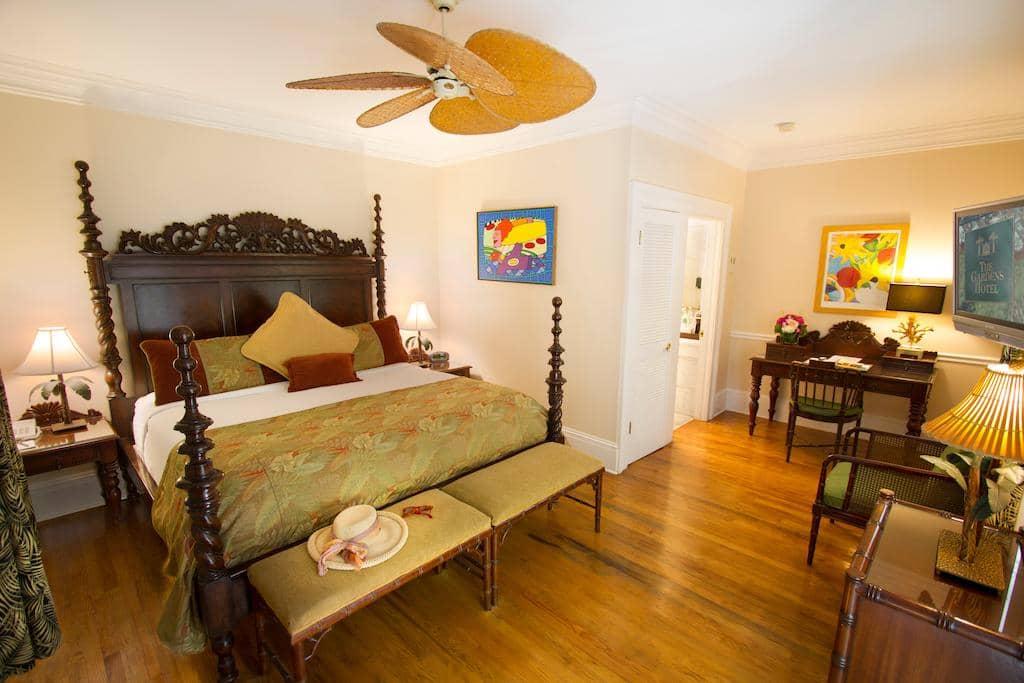 Melhores hotéis em Key West: Hotel The Gardens - quarto