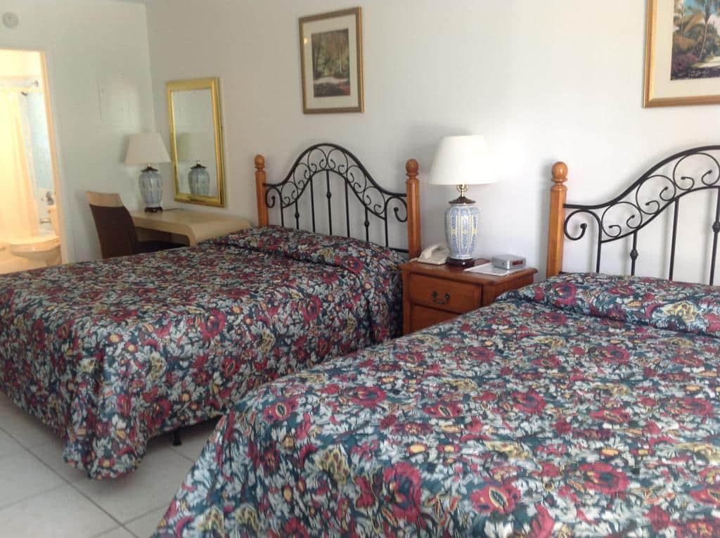 Hotéis bons e baratos em Fort Lauderdale: Motel Birch Patio - quarto