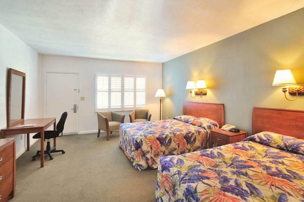 Hotéis bons e baratos em Key West: Motel Blue Marlin - quarto