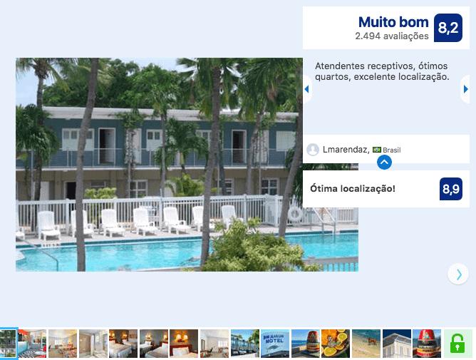 Hotéis bons e baratos em Key West: Motel Blue Marlin