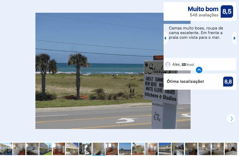 Hotéis bons e baratos em Daytona Beach: Motel Studio 1