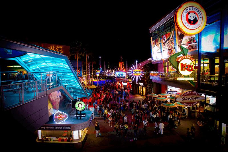 Por que Orlando é considerado o melhor destino para as férias de julho: Universal CityWalk