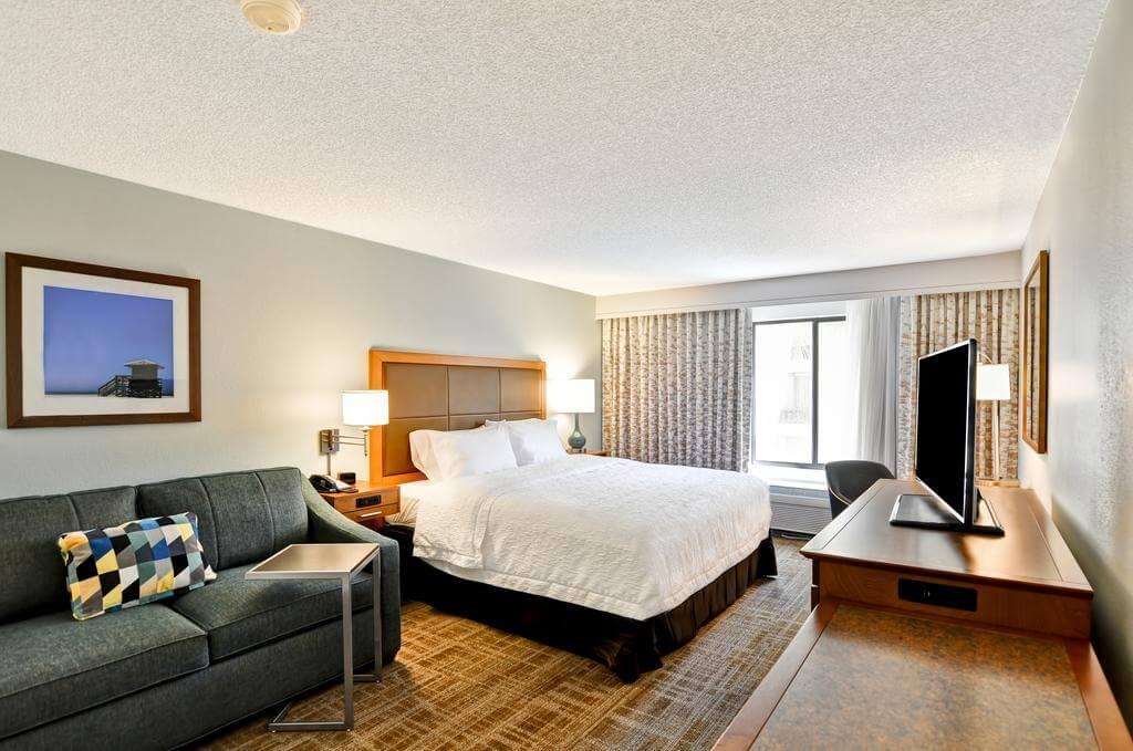 Hotéis bons e baratos em Boca Raton: HotelHampton Inn - quarto