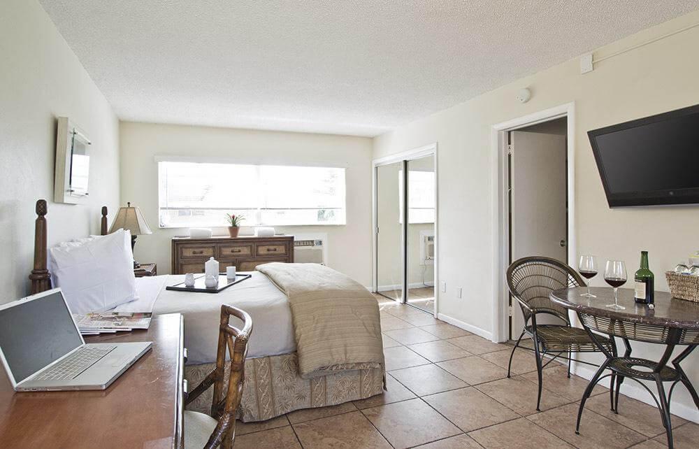 Hotéis bons e baratos em Boca Raton: Hotel Ocean Lodge - quarto