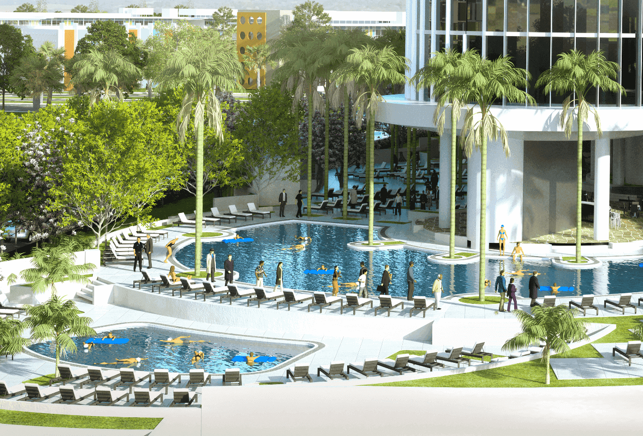 Universal's Aventura Hotel: piscina