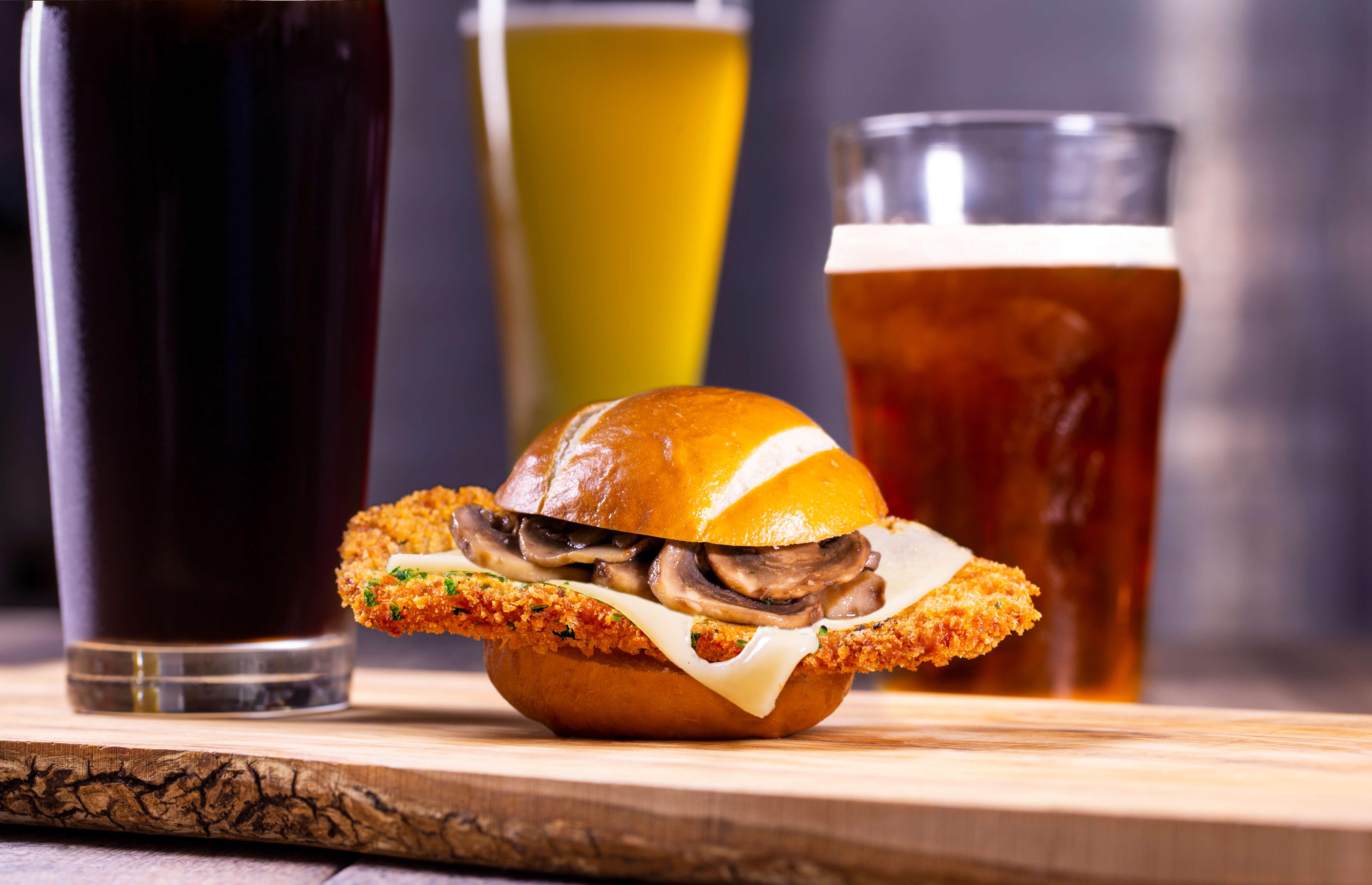 Festival Bier Fest no parque Busch Gardens: aperitivos e cervejas